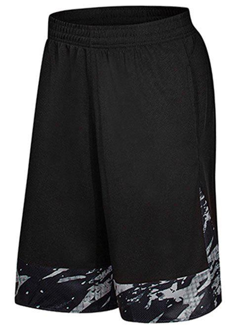 Shops Two-pocket Casual Knee Length Gym Shorts