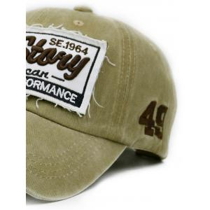New Story Embroidery Washed Dyed Trucker Hat -