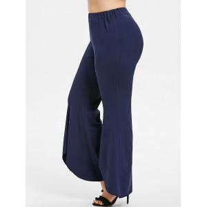 Plus Size Tulip Flared Pants -
