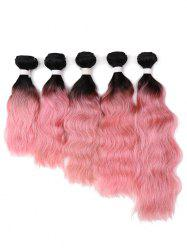 1Pc Body Wave Gradient Indian Human Hair Weave -