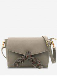 Envelope Flap Bowknot Minimalist Crossbody Bag -