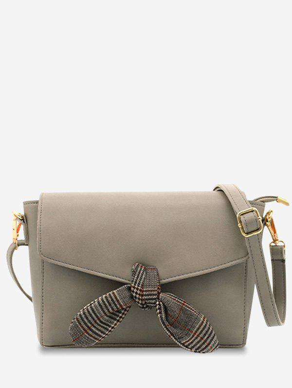Shop Envelope Flap Bowknot Minimalist Crossbody Bag