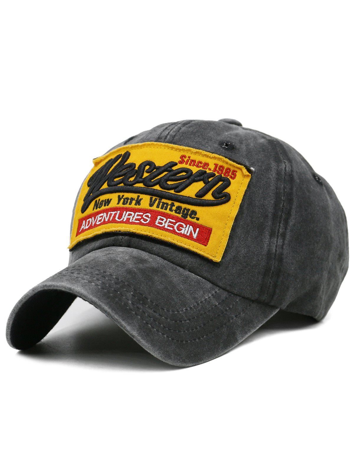 Best Unique Letter Embroidery Washed Dyed Trucker Hat