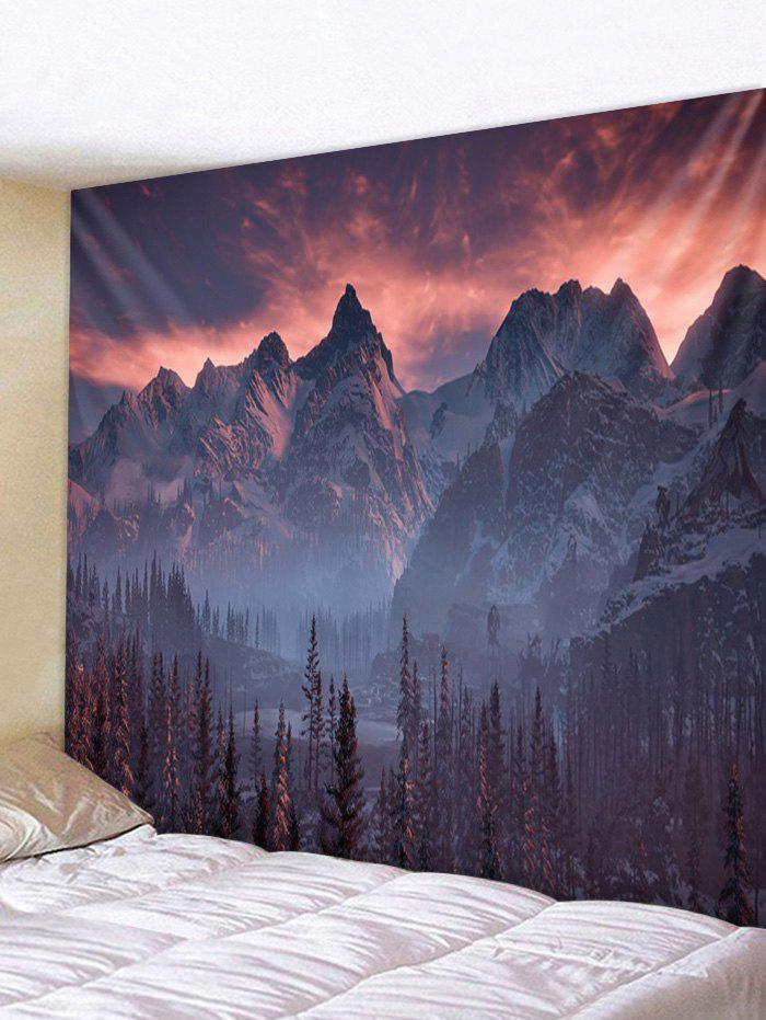 New Mountain Forest Pattern Wall Tapestry Hanging Decor