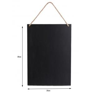 Two Sided Wood Sign Blackboard Wedding Decoration -