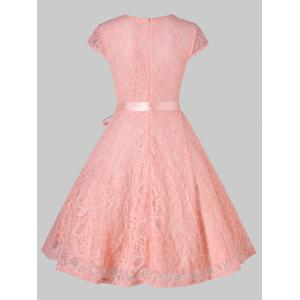 Lace Party A Line Dress -