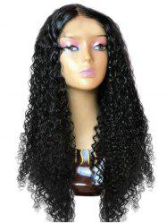 Center Parting Long Deep Wave Synthetic Wig -