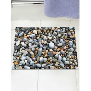 3D Cobblestone Pattern Removable Wall Sticker -