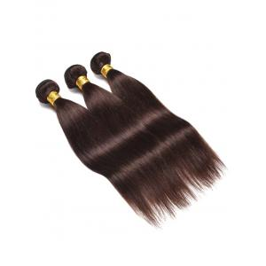 3Pcs Straight Real Human Hair Weaves -