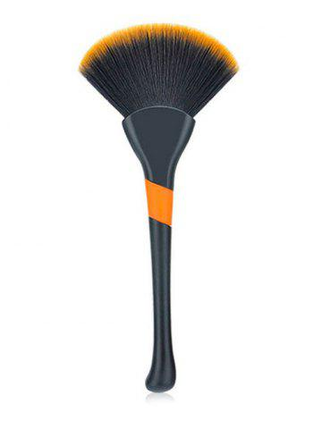 Discount Multifunctional Fiber Hair Fan Shaped Powder Blush Brush
