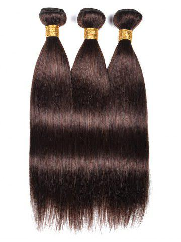 Discount 3Pcs Straight Real Human Hair Weaves