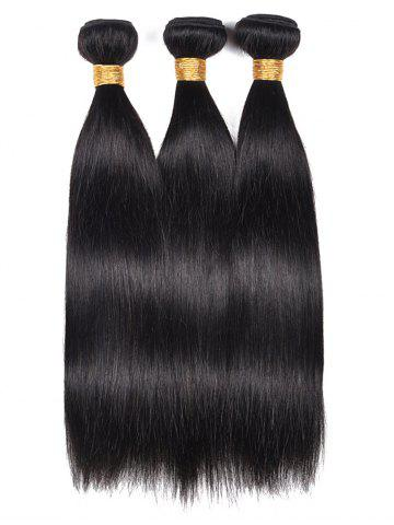 Hot Human Hair Straight 3Pcs Hair Wefts