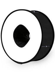 Round Universal Collapsible Magnetic Ring Soft Box -