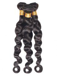 Loose Wave 3Pcs Human Hair Wefts -