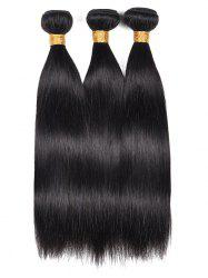 Human Hair Straight 3Pcs Hair Wefts -