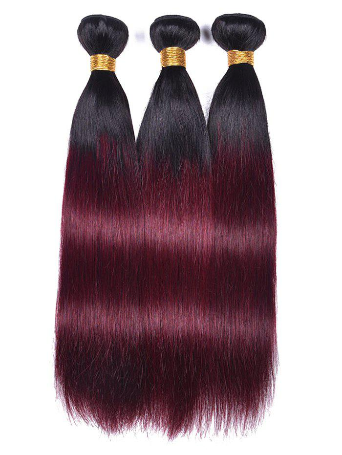 Online Ombre Straight Human Hair Weaves