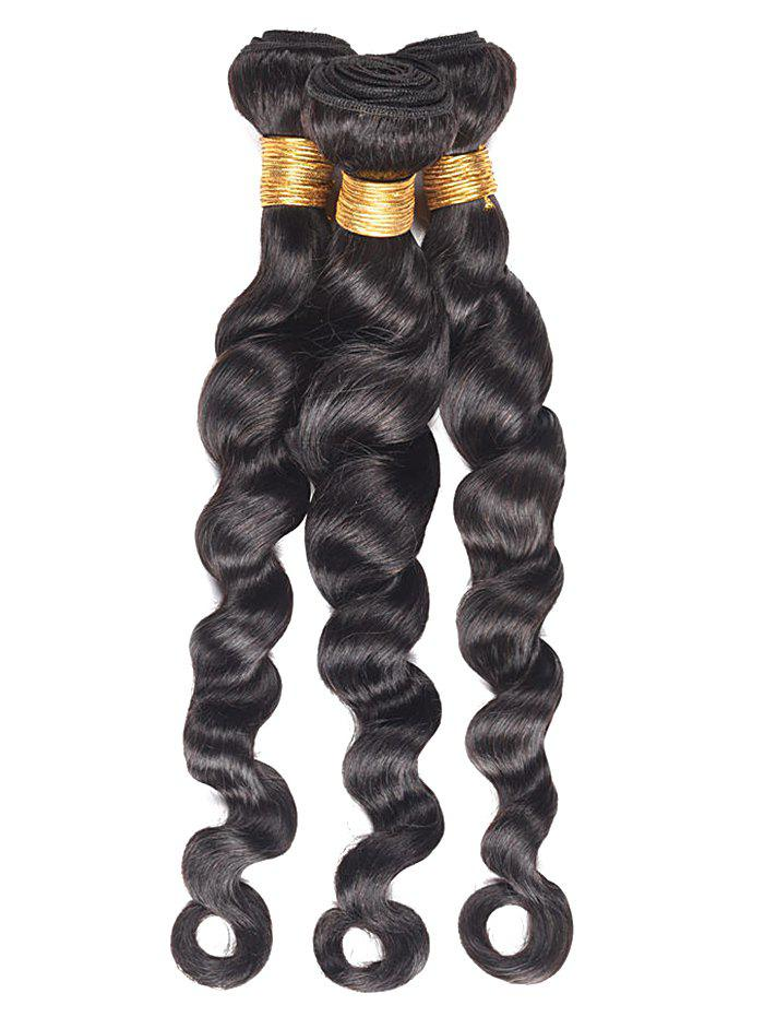 Fashion Loose Wave 3Pcs Human Hair Wefts