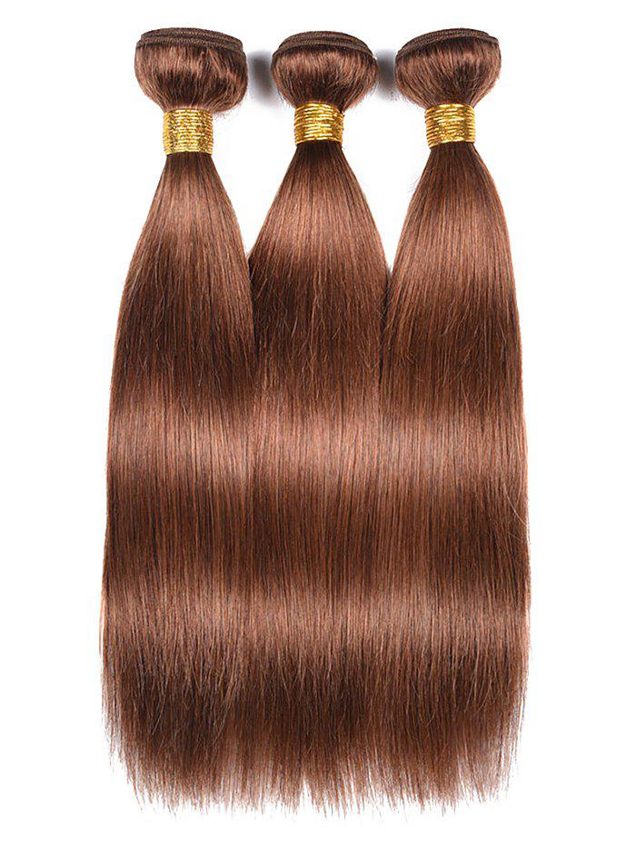 Trendy Indian Real Human Hair Straight Hair Wefts