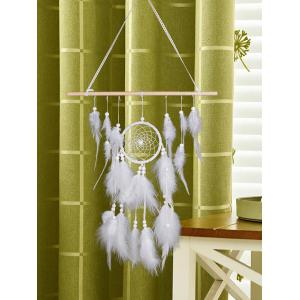Feather Bead Embellished Home Decor Dreamcather -