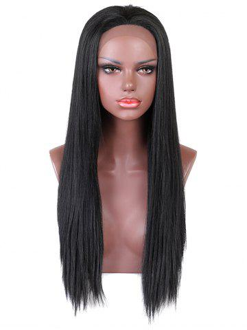 Store Long Free Part Straight Synthetic Lace Front Wig