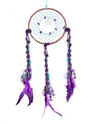 Plumes Tissu Plumes Dreamcatcher Hanging Craft -