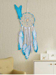 Handmade Feathers Beads Lace Ropes Art Hanging Dreamcatcher -