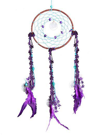 Fancy Beads Fabric Feathers Dreamcatcher Hanging Craft