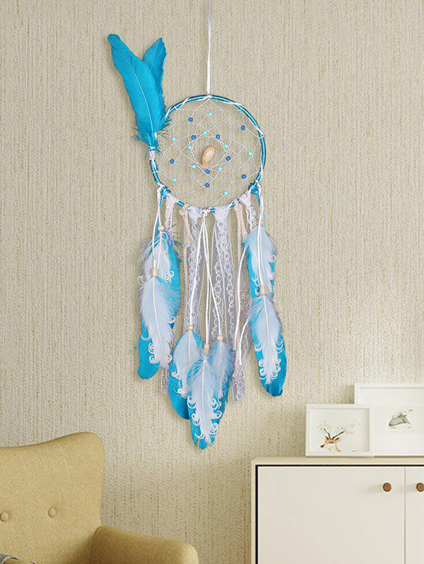 Sale Handmade Feathers Beads Lace Ropes Art Hanging Dreamcatcher