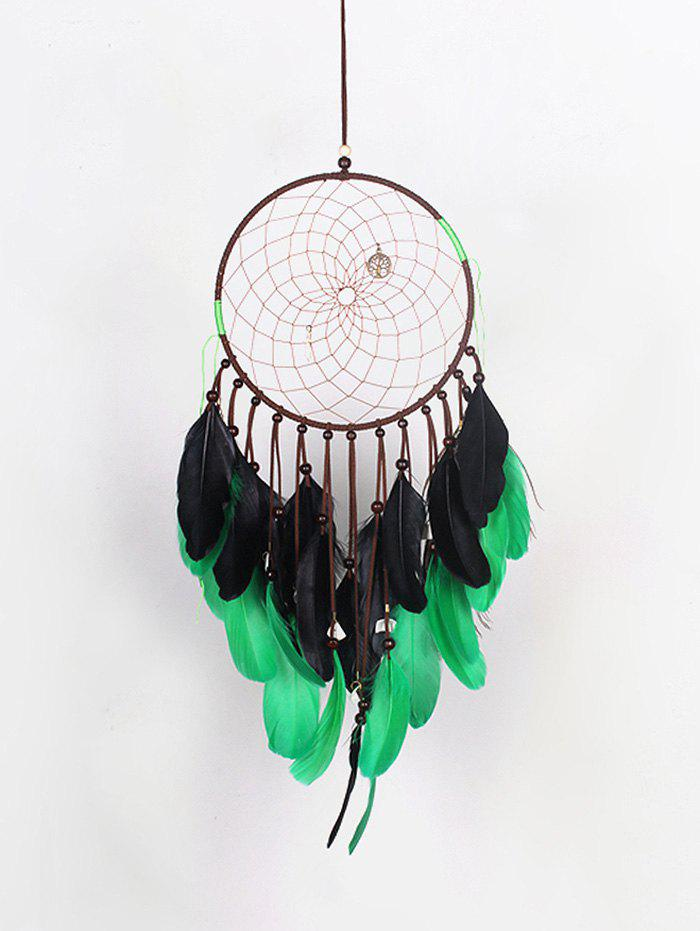Hot Feathers Bell Dream Catcher Car Decoration Craft