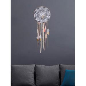 Feathers Fringed Handmade Dream Catcher Wall Hanging Decoration -