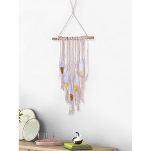 Handmade Feathers Fringed Wall Hanging Decoration -