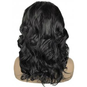 Medium Free Part Wavy Lace Front Synthetic Wig -