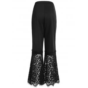 Double Stripes Lace Insert Pants -