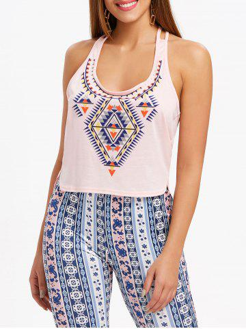 Affordable Back Twist Tank Top