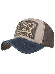 Motors Racing Team Printed Adjustable Sunscreen Hat -