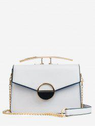 Casual Chain Flapped Minimalist Crossbody Bag -