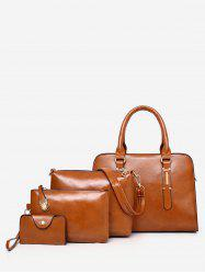 Multi Functions Trip Practical 4 Pieces Tote Bag Set -