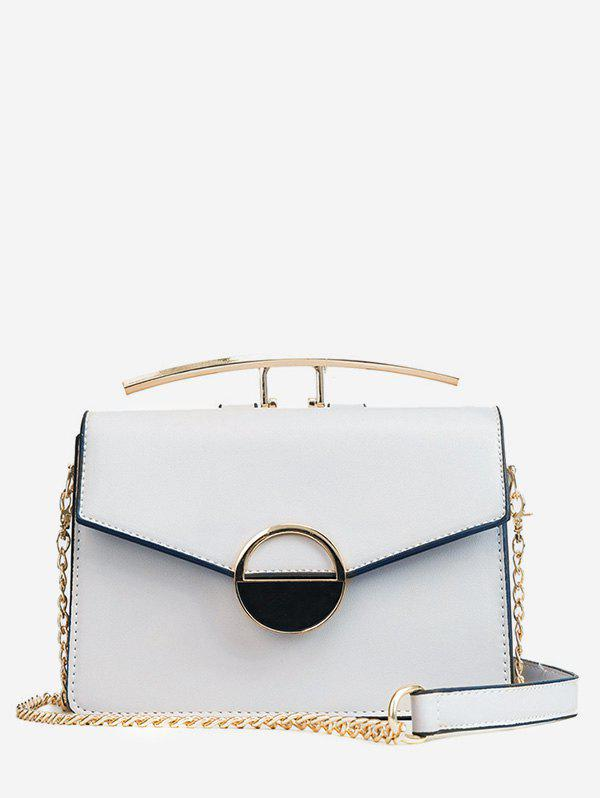 Chic Casual Chain Flapped Minimalist Crossbody Bag