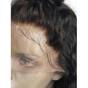 Free Part Long Water Wave Lace Front Synthetic Wig -