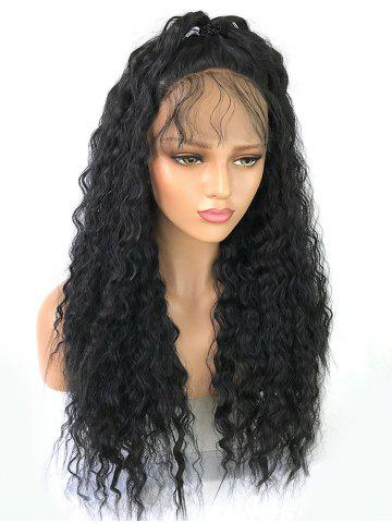 Trendy Long Free Part Curly Lace Front Synthetic Wig
