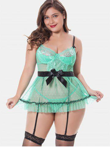 ffe1c862435 Sexy Plus Size Lingerie - Cami Babydoll