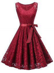 Retro Lace Pin Up Dress -