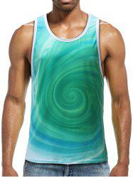 Volution Print Sports Tank Top -