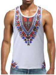 Fork Print Running Tank Top -