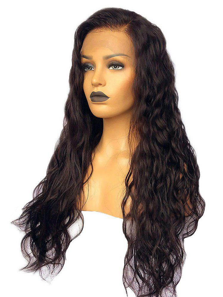New Long Free Part Wavy Lace Front Synthetic Wig