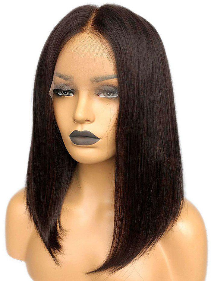 New Medium Center Parting Straight Bob Lace Front Synthetic Wig