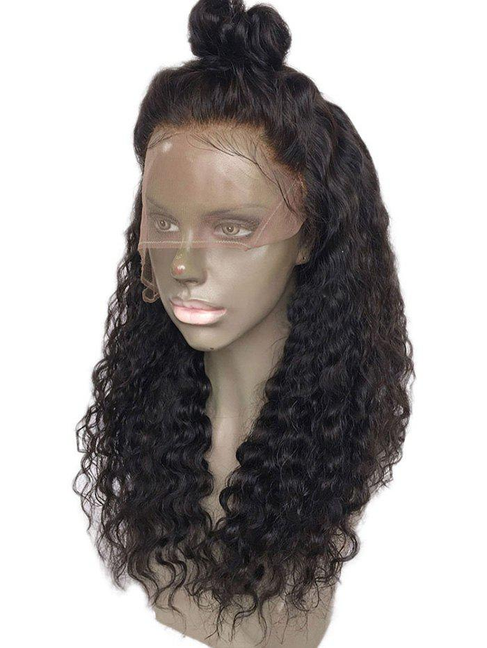 Store Free Part Long Water Wave Lace Front Synthetic Wig
