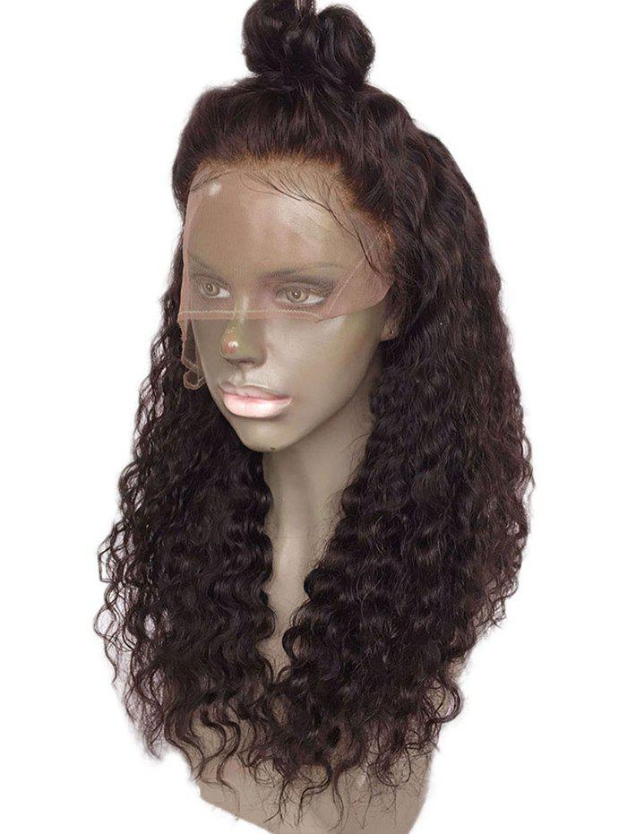 Affordable Free Part Long Water Wave Lace Front Synthetic Wig