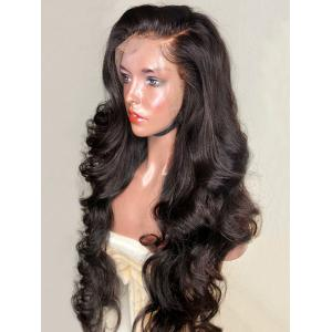 Long Side Parting Loose Wave Synthetic Lace Front Wig -