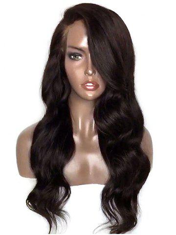 Outfits Long Side Parting Wavy Lace Front Synthetic Wig